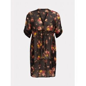 Torrid - Floral Tunic